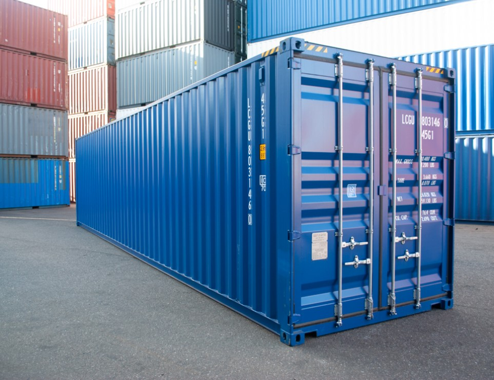 40FT High Cube Zeecontainer
