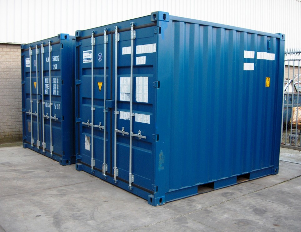 10FT Geisoleerde Container