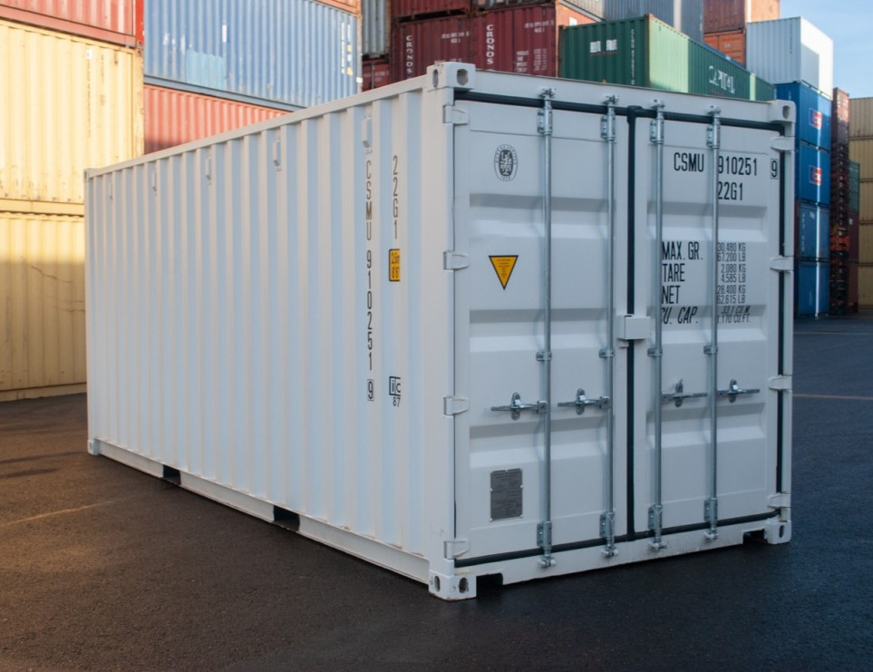 20FT Geisoleerde container