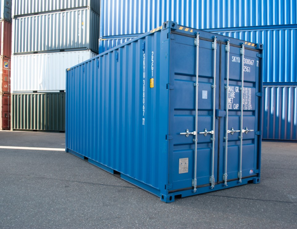 20FT High Cube Zeecontainer
